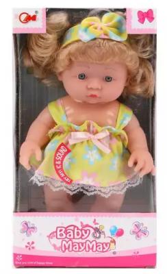 Кукла Наша Игрушка Моя радость 24 см со звуком стази о жил был сережа малыш растет книга 2