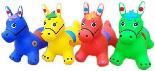 Купить Лошадка попрыгунчик 1300 г, в ассорт., Наша Игрушка, цвет в ассортименте, унисекс, Мячи и животные прыгуны