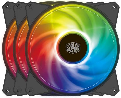 Cooler Master MF120R ARGB LED Fan, PWM, 3pcs + controller