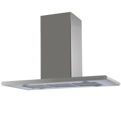 Вытяжки ELICA/ Декоративный дизайн, островная, 90х45 см, 1000 куб.м., сенсорное управление, нержавеющая сталь+белое стекло сенсорное стекло acer x960