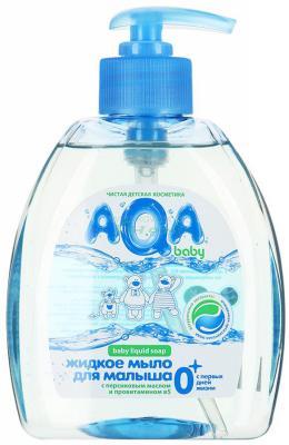 Жидкое мыло AQA baby 009351 300 мл детское жидкое мыло aqa baby с дозатором 300 мл