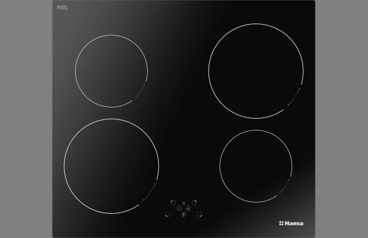 Фото - Встраиваемая варочная панель HANSA/ Индукционная, 56x49 см, индукционная, стеклокерамика, независимая, черная встраиваемая индукционная панель kuppersberg fa6if01