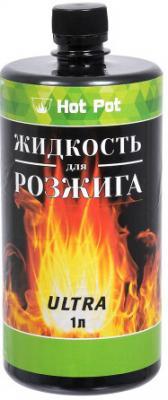 Hot Pot Жидкость для розжига углеводородная ULTRA 1 л