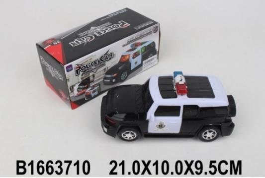 Машина Shantou джип полиция 5055 черно-белый 22 см джип полиция
