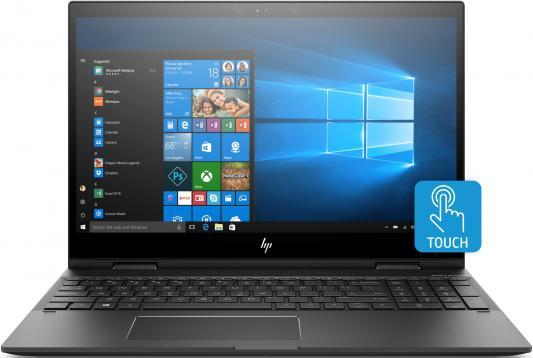 Ноутбук HP Envy x360 15-cp0011ur 15.6 1920x1080 AMD Ryzen 7-2700U 256 Gb 12Gb Radeon RX Vega 10 Graphics серебристый Windows 10 4TT98EA ноутбук hp envy x360 15 cp0007ur 4tu01ea серебристый