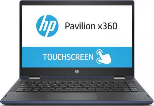 "Ноутбук HP Pavilion x360 14-cd1015ur <5SU62EA> i5-8265U(1.6)/8Gb/1Tb+128Gb SSD/14.0"" FHD IPS touch/NV MX130 2GB/Win10 +Pen (Sapphire Blue )- Transform цена в Москве и Питере"