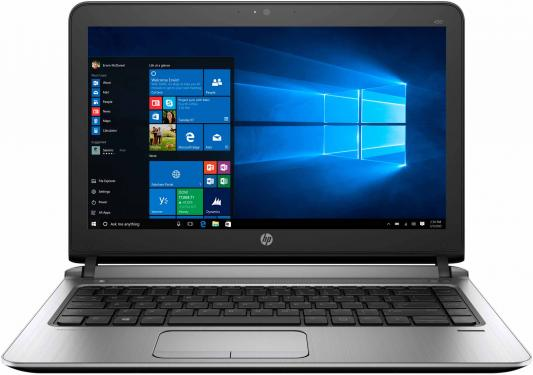 Ноутбук HP ProBook 430 G3 Core i5 6200U/8Gb/500Gb/Intel HD Graphics 520/13.3/SVA/HD (1366x768)/Windows 10 Professional 64/black/WiFi/BT/Cam