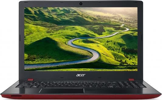 "Ноутбук Acer Aspire E5-576G-53N7 Core i5 8250U/8Gb/SSD256Gb/nVidia GeForce Mx150 2Gb/15.6""/IPS/FHD (1920x1080)/Windows 10/black/red/WiFi/BT/Cam цена"