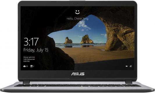 Ноутбук Asus VivoBook X507UA-BQ670T Core i3 8130U/8Gb/SSD256Gb/Intel UHD Graphics 620/15.6/IPS/FHD (1920x1080)/Windows 10/grey/WiFi/BT/Cam видеорегистратор asus reco smart car and portable cam