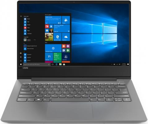 Ноутбук Lenovo IdeaPad 330s-14 14 1920x1080 Intel Core i5-8250U 512 Gb 8Gb Intel UHD Graphics 620 серый DOS 81F4013YRU ноутбук lenovo ideapad 330s 14ikb 81f401dbru intel® core™ i5 8250u kaby lake r 6 мб smartcache 1 60 ггц 4 гб 256 ssd 14 1920 х 1080 full hd ips intel uhd graphics 620 sma выделяется