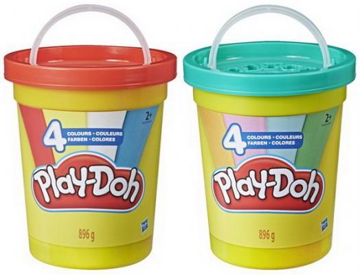 Игровой Набор Hasbro Play-Doh мас.д.леп.Большая банка 4 цвета