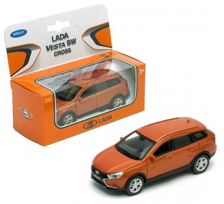 Автомобиль WELLY Lada Vesta SW Cross 1:34-39 асорти машинка welly lada vesta sw cross 1 34 39