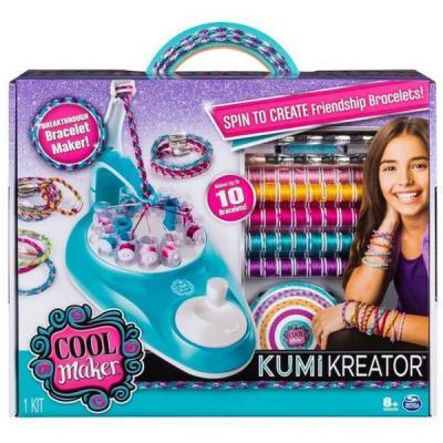 цены Набор для создания браслетов Kumi Kreator Студия для плетения браслетов и фенечек от 8 лет