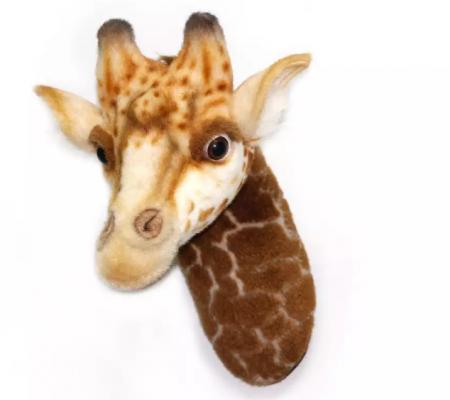 Купить 7149 Декоративная игрушка Голова жирафа, 35 см, Hansa, Украшения