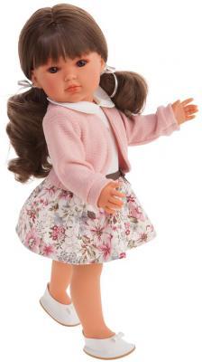 Кукла JUAN ANTONIO Ясмина с хвостиками 45 см кукла munecas antonio juan белла в шляпке блондинка 45 см 2808p