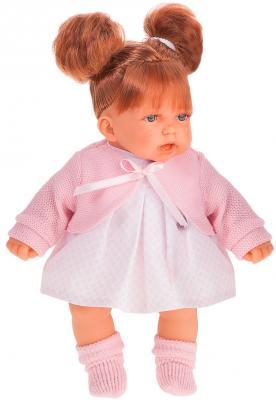 Кукла JUAN ANTONIO Дели в розовом 27 см со звуком кукла лана брюнетка juan antonio 27 см 1112br