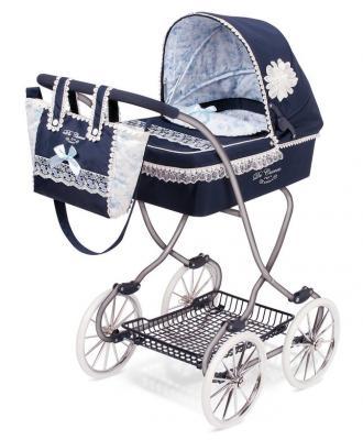 Коляска с сумкой DeCuevas Романтик decuevas коляска для куклы романтик с сумкой и зонтом цвет розовый 65 см
