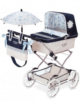 Коляска с сумкой и зонтиком DeCuevas Романтик decuevas коляска для куклы романтик с сумкой и зонтом цвет розовый 65 см