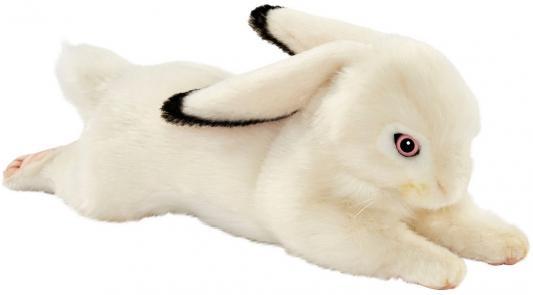 Купить 6523 Белый кролик вислоухий, 40 см, Hansa, белый, искусственный мех, Животные
