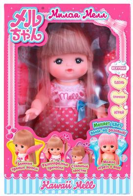 Кукла Kawaii Мелл модница 26 см меняет цвет волос