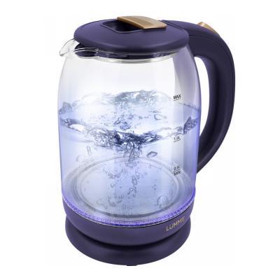 Чайник Lumme LU-142 1800 Вт золотой топаз 2 л пластик/стекло MCO00063250