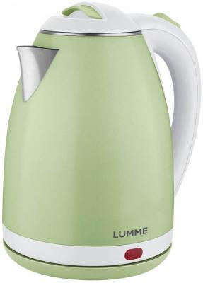 Чайник электрический Lumme LU-145 1800 Вт — 2 л металл/пластик зеленый