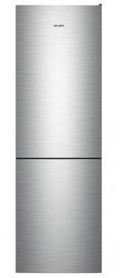 лучшая цена Холодильник ATLANT 4624-141 нержавеющая сталь