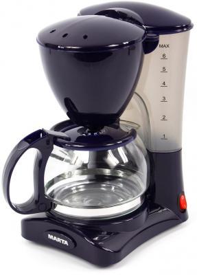 лучшая цена MARTA MT-2115 Кофеварка темный топаз