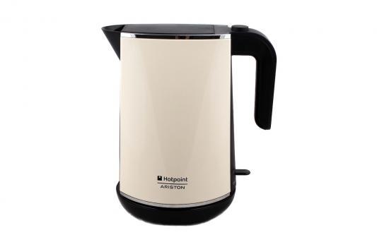Hotpoint-Ariston WK 24E AC0 Чайник кремовый (Нерж.сталь) cm600ha 24e new