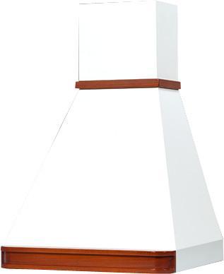 Вытяжка каминная Elikor Багет 60П-430-П3Г бежевый/дуб коричневый