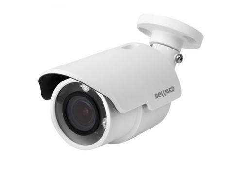 Камера IP Beward BD4685RV CMOS 1/3 2.8 мм 2688 x1512 MJPEG H.264 Н.265 10/100Base-TX Fast Ethernet PoE белый ip камера beward b2710r