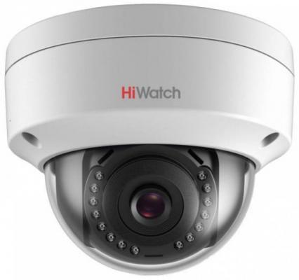 Видеокамера IP Hikvision HiWatch DS-I252 4-4мм видеокамера ip hikvision hiwatch ds i114w 4 4мм цветная
