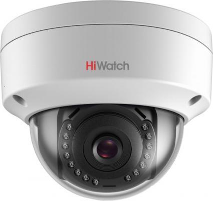 Камера IP Hikvision DS-I452 CMOS 1/3 6 мм 2560 х 1440 Н.265 H.265+ H.264 H.264+ RJ-45 PoE белый hs 918ip waterproof 8mm h 264 1 3 mp cmos network ip camera w 2 ir led white