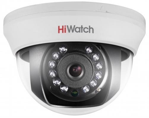 Камера видеонаблюдения Hikvision HiWatch DS-T101 6-6мм цветная камера видеонаблюдения hikvision hiwatch ds t220s 3 6мм hd tvi цветная