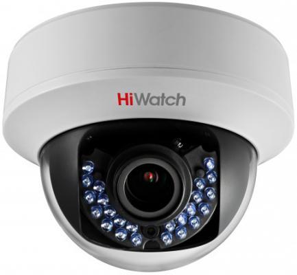 "Камера Hikvision DS-T107 CMOS 1/4"" 2.8 мм 1280 x 720 HD-TVI белый черный"