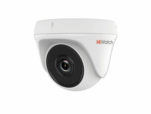 "Камера Hikvision DS-T133 CMOS 1/4"" 3.6 мм 720 x 576 HD-TVI белый"