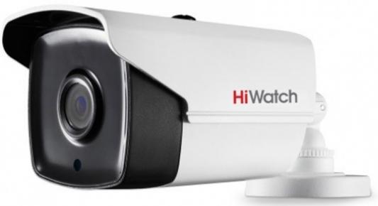 Камера видеонаблюдения Hikvision HiWatch DS-T220S 6-6мм камера видеонаблюдения hikvision hiwatch ds t220s 3 6мм hd tvi цветная