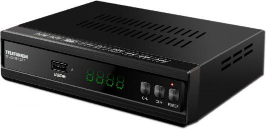 цена на Ресивер DVB-T2 Telefunken TF-DVBT227 черный