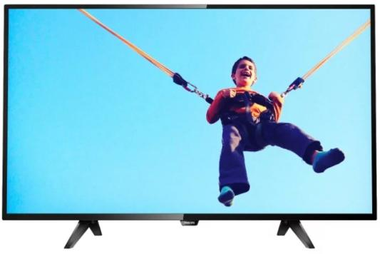 Телевизор LED Philips 43 43PFS5813/60 черный/FULL HD/60Hz/DVB-T/DVB-T2/DVB-C/DVB-S/DVB-S2/USB/WiFi/Smart TV (RUS) samsung 32 ue32n5000auxru черный full hd 200hz dvb t2 dvb c usb rus