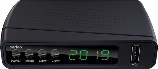 Фото - Perfeo DVB-T2/C приставка STREAM для цифр.TV, Wi-Fi, IPTV, HDMI, 2 USB, DolbyDigital, пульт ДУ приставка dvb t2 lumax gx2325s пластик 3 5 jack usb hdmi wi fi dolby digital megogo iptv плейлисты кинозал lumax youtube 0 3кг внешний блок питания