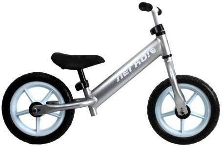 """Беговел ЛЕГКО, колеса 12"""",, рама-вилка-руль Алюминиевые, покрышки EVA, пластиковые обода, стальная вилка, регулируемое по высоте седло и руль, вес 1.9"""