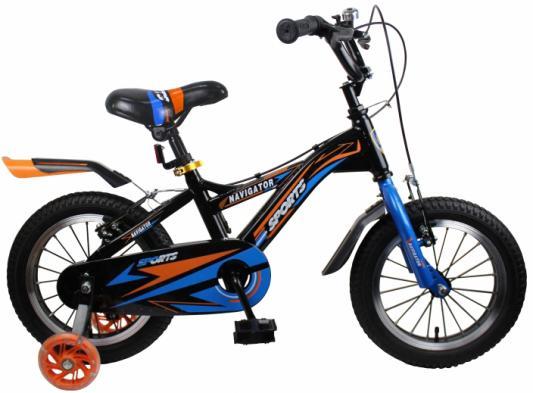 Велосипед Navigator Sport II 14 черный ВН14189 бинокль navigator 12х25 черный