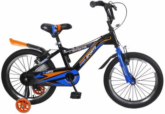 """Велосипед Navigator Sport II 18"""", черно-синий ВН18107"""