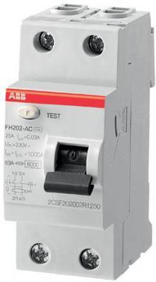 ABB 2CSF202003R3630 Выкл.диф.тока 2мод. FH202AC-63/0,3 цена в Москве и Питере
