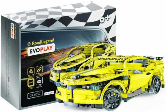 Конструктор Evoplay Hornet sport car на РУ 419 элементов evoplay конструктор evoplay wheel loader 261 деталь