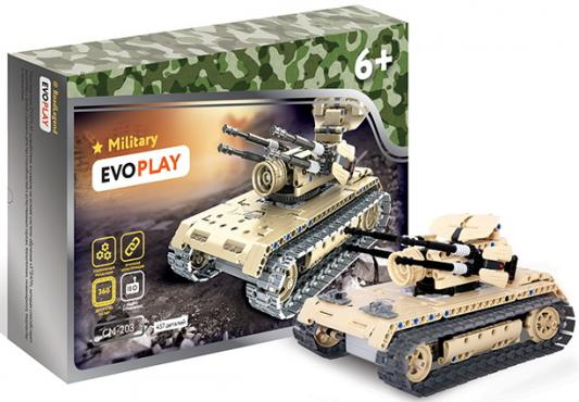 Конструктор Evoplay Anti Aircraft Tank на РУ 457 элементов evoplay конструктор evoplay wheel loader 261 деталь