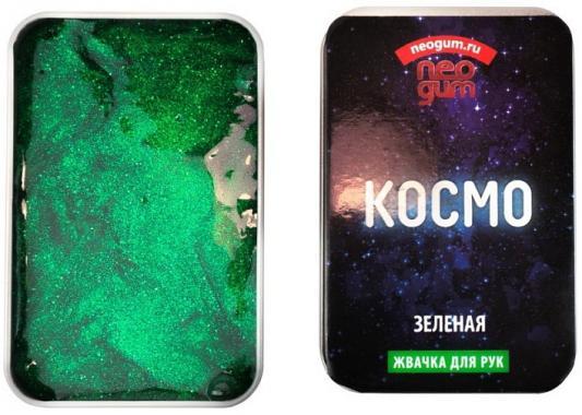 Купить Игра NEO GUM NGC006 Жвачка для рук Неогам Космо , зеленая, Тесто и масса для лепки