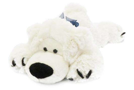 Мягкая игрушка Мишка Лежебока MAXITOYS MT-MRT031316-25 искусственный мех трикотаж белый 25 см недорго, оригинальная цена