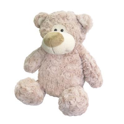 Мягкая игрушка Медведь Барни MAXITOYS MT-MRT031322-24 искусственный мех трикотаж серый 24 см мягкая игрушка собака maxitoys хаски искусственный мех текстиль пластик белый серый 18 см