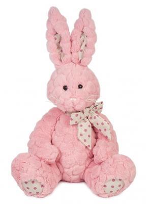 Мягкая игрушка Зайка Пинки MAXITOYS MT-TS112017-4-30S искусственный мех текстиль розовый 30 см мягкие игрушки maxitoys мишка бени 50 см mt ts031207 50s